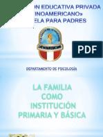 Escuela Para Padres Octubre 2013