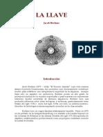 Boehme, Jacob - La llave.pdf