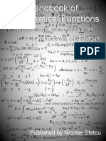 Handbook of Mathematical Functions - With Formulas, Graphs, and Mathematical Tables