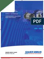 Sauerbibus Sumitomo High Performance Gear Pumps Catalogue en 201007