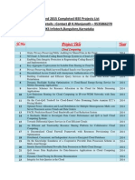 Updated 2014 and 2015 BE,MTech,BTech,ME IEEE Projects List From TMKS Infotech,Bangalore