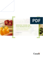 Improving Cooking and Food Preparation Skills - Health Canada