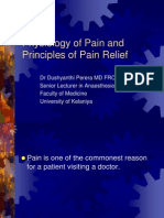 01 Pathophysiology & Mx of Pain