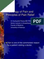 01 Pathophysiology & Mx of Pain