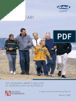 The Economic Impact of Hearing Loss in Australia
