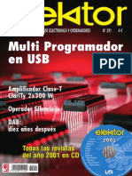 Revista Multi Programador en USB y Robotica