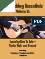 FGM_B-14 Flatpicking essential volume 2 Bluegrass