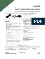 BlueNRG Processor