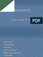 06.Osteoarthritis Pradeep