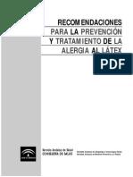 Alergia Latex