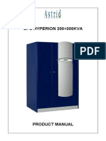 Astrid Hyperion 200-300kVA Product Manual (OM226162)