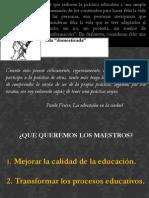 El Proyecto Emancipador