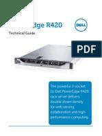 Poweredge-r420 Tech Guide