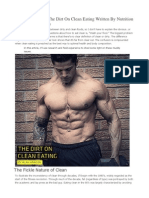 Alan Aragon - The Dirt on Clean Eating Written by Nutrition Expert Alan Aragon