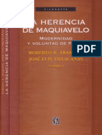 Aramayo Roberto - La Herencia de Maquiavelo