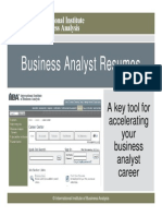 18 Sep - Creating a Top-notch Business Analyst Resume