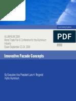 Innovative Facade Concepts (August 2004)