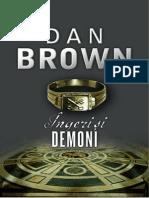 Dan Brown Ingeri Si Demoni
