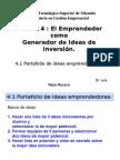 4.0 El Emprendedor Como Generador de Ideas,Sept,28,2013