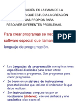 Tema 11 - Programación