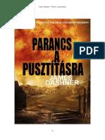 James Dashner - Parancs a Pusztításra