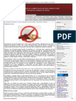 Saude - A Conspiração Do Bórax - Como Se Impediu a Cura Da Artrite