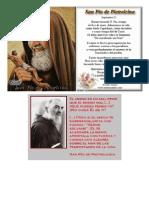 Oracion Del Padre Pio