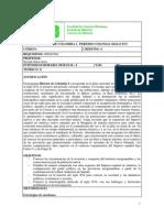 Programa h. Colombia i - s. Xvi