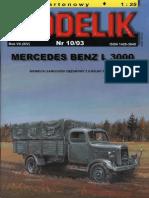 [Modelik 2003 10] - Mercedes Benz L3000