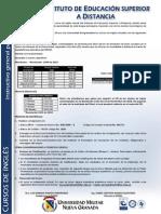 Informacion Cursos de Ingles a Distancia2011