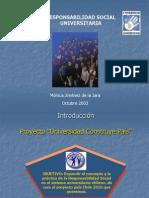 Presentaci%F3n Encuentro de j%F3venes 01.10.03