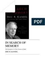 Kandel in Search of Memory_ the Emergence of a New Science of Mind
