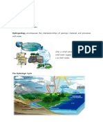 HydroGeology 1stWeek(Lecture Note)