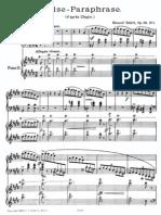 Schutt - Chopin_valse Paraphrase for 2 Pianos-2