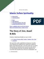 the story of jinn, azazil & iblis « islamic sufism spirituality