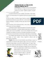 Distribucion de Los Pueblos Mayas Procolombina