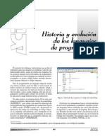 Historia y evolucion de los lenguajes de programacion.pdf