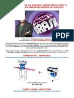 Maquina de Sandálias Compacta Print - A Melhor Máquina Do Brasil