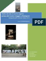 Mini Guida Budapest PDF