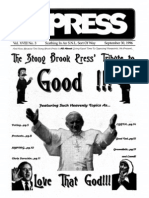The Stony Brook Press - Volume 18, Issue 3