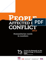People Affected by Conflict 2013