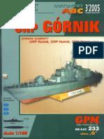 (Papermodels@Emule) [GPM 233] - Missile Corvette ORP Gornik