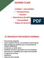 2.Normalidad Personalidad Temperamento Caràcter