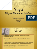 Presentación de la novela YUYO
