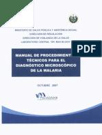 Manual Diagnostico Microscopico Malaria P1