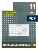 DTC - 11 - Planejamento Global Da Obra e Orçamento