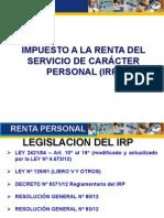Taller IRP