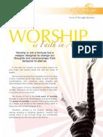 Worship is Faith in Action