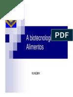 Química e Biotecnologia Inovação Em Alimentos 2