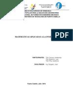 Trabajo Matematicas Aplicada a Ingenieria (Reparado)